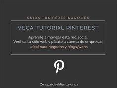 #Pinterest: Verifica tu blog y pásate a cuenta para empresas