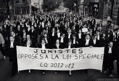 Marche silencieuse de juristes – Post Mortem – Véronique Robert – Voir.ca