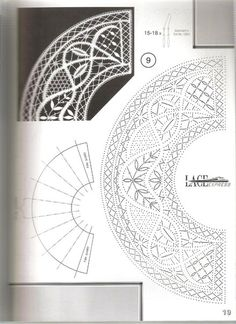 Photo Bobbin Lace Patterns, Textile Patterns, Textile Art, Lace Dress Pattern, Lace Drawing, Lacemaking, Lace Heart, Point Lace, Lace Jewelry