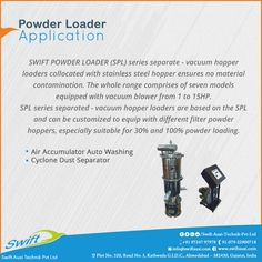 Powder Loader Application #PowderLoader #PowderLoaderManufacturer #PowderLoaderSuppliers #PowderLoaderTraders #PowderLoaderExporters W:http://www.swiftauxi.com/ M:+91 97247 97978