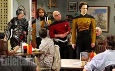 The Big Bang Theory' guys boldly go out in 'Star Trek: TNG' costumes - can't wait!