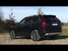 Volvo XC90 D4 im Test - Neuer 190 PS Einstiegs-Diesel mit Frontantrieb Probefahrt - YouTube