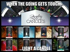 That's right! When the going gets tough ....light your candle and been some BLING!