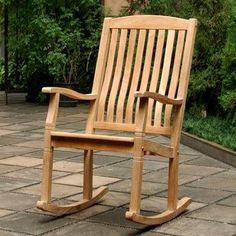 Teak Outdoor Garden Furniture is made from the teak tree discovered in the tropical area of Javanese. Most companies that build teak outdoor garden furniture. Teak Rocking Chair, Outdoor Rocking Chairs, Patio Chairs, Wooden Chairs, Eames Chairs, Adirondack Chairs, Room Chairs, Desk Chairs, Bag Chairs
