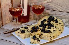 Une belle fougasse aux olives pour un apéritif provençal! Ingrédients pour une…