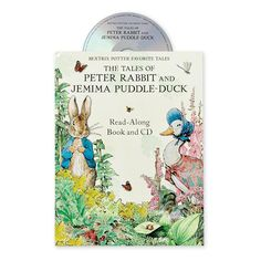 """Beatrix Potter Favorite Tales: The Tales of Peter Rabbit and Jemima Puddle Duck"" Read-Along Book and CD"