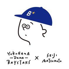 横浜DeNAベイスターズとSEIJI MATSUMOTOのコラボアイテム発売!ヴィレッジヴァンガード横浜ルミネ店にて10/29から先行販売開始です。Tシャツ、トートバックあります〜!是非是非よろしくお願いします!    #横浜denaベイスターズ #villagevanguard #baystars #baseball # #fashion #seijimatsumoto #松本セイジ #art #artwork #draw #graphic #illustration #イラスト #ファッション #デザイン #アート