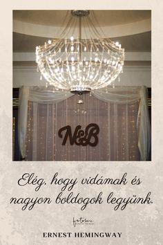Esküvői Idézetek Magyarul: Ernest Hemingway Ernest Hemingway, Ceiling Lights, Wedding, Decor, Valentines Day Weddings, Decoration, Weddings, Decorating, Outdoor Ceiling Lights