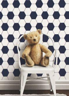 Lilleby kids wallpaper from Borastapeter Playroom Wallpaper, Kids Wallpaper, Inspirational Wallpapers, Cole And Son, Swedish Design, Designers Guild, Classic Elegance, Designer Wallpaper, Blue And White