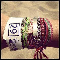 beach arm party