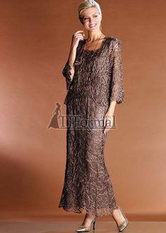 573c3a7f510 Gorgeous 3 piece mocha brown dress