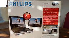 ** Tragbarer Philips DVD Player PET 708 mit zweiten TFT 7* LCD Monitor**sparen25.com , sparen25.de , sparen25.info