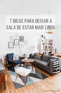 Os melhores blogs de decoração te mostram maneiras de deixar a sua sala do seu…