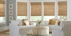 Roman Shades Window Treatment Ideas Bamboo Roman Shades, Woven Wood Shades, Patio Blinds, Bamboo Blinds, Matchstick Blinds, Privacy Blinds, Outdoor Blinds, Wood Blinds, Bamboo Curtains