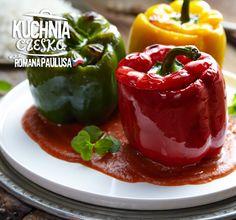 Nadziewana papryka w sosie pomidorowym #lidl #przepis #paulus #papryka #nadziewana #sos #pomidorowy