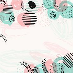 Modern background in pastel colors Premium Vector