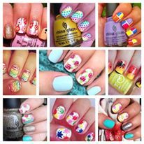 Some nail art for you !!