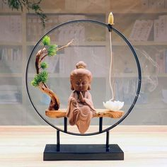 Little Zen Incense Burner Baby Buddha, Little Buddha, Buddha Decor, Buddha Art, Burning Incense, Incense Burner, Incense Cones, Incense Sticks, Meditation Center