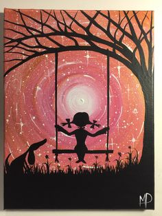 A personal favorite from my Etsy shop https://www.etsy.com/listing/223547198/i-wish-i-may-9-x-12-acrylic-on-canvas