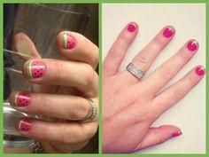 French tip watermellon nail art design ideas diy wraps buy3get1