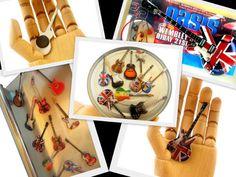 Original guitar shaped fridge magnets