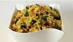 Arroz al Curry con Frutos Secos y Cilantro http://www.gourmet.cl/receta/arroz-al-curry-con-frutos-secos-y-cilantro/