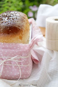 My Lovely Food : Pan de molde a la antigua (Old White Loaf) Bake Sale Displays, Bread Baking, Food Fresh, Homemade, Packaging Ideas, Relleno, Sweet, Jelly, Breads