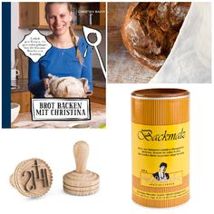 """Habt Ihr schon mal selbst Brot gebacken? Geht ganz einfach. Alle Tipps und Tricks findet Ihr in dem #Buch """"Brot backen mit Christina"""". Damit das #Brötchen, #Brezel oder #Hefegebäck auch sein volles #Aroma entfalten kann, empfehlen wir unser #Backmalz. Verzieren könnt ihr Euer #Brot dann mit dem #Brotstempel.  Viel #Spass beim Selber backen! #selberbacken #mahlen #bio #gesund #mehl #waldnerbiotech🌼🌱🌎😍 Dog Food Recipes, Pets, Bread Baking, Animal Food, Pretzel Bun, Tips And Tricks, Animals And Pets, Dog Recipes"""