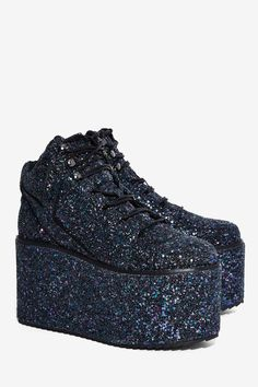 YRU Qozmo Platform Sneaker - Platforms | Sneakers | The Ice Queen | The Party Animal | All Gifts | Last Chance | Party Shoes | All Party