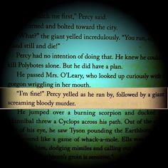Percy Jackson in a nutshell, everyone.