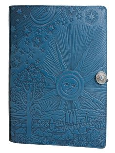 Large Leather Refillable Sketchbook | Roof of Heaven | Extra Large | Oberon Design