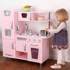 KidKraft Vintage Kitchen (Pink) | Kids Cool Toys UK