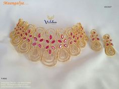 Tips For Jewelry Lovers – Brook Jewellers Golden Jewelry, Royal Jewelry, India Jewelry, Jewelry Sets, Unique Jewelry, Indian Wedding Jewelry, Bridal Jewellery, Gold Jewellery, Dulhan Mehndi Designs