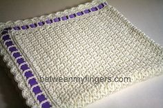 Ravelry: Cluster & Shell Baby Blanket pattern by Sharon Frazier