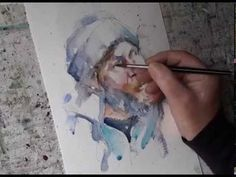 Watercolor Techniques EPISODE 04 - Painting A Portrait - YouTube