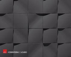 Revestimentos de betão Wave ll Wall Concrete Tiles Wave