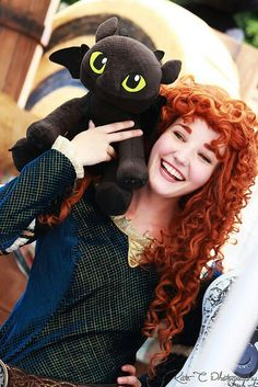And the merricup shippers go crazy (shippers>>>AHHHHHHHHHHHHH, SHE IS HOLDING TOOTHLESS, I CANT BREATHE, I CANT BREATHE, I