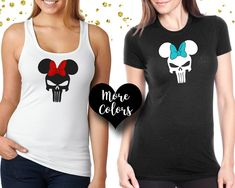 Specializing in high quality custom shirts and bags by OhMyPoshGifts Matching Disney Shirts, Disney Shirts For Family, Disney Family, Family Shirts, Boys T Shirts, Minnie Mouse Shirts, Disney Trips, Custom Shirts