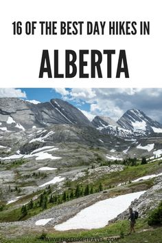 Hiking in Alberta: 16 of the Must-Do Day Hikes - Hike Bike Travel Places To Travel, Places To See, Alberta Travel, Banff Alberta, Alberta Canada, Voyage Canada, Waterton Lakes National Park, Discover Canada, Road Trip