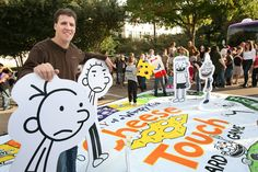 "Life Size ""Diary of a Wimpy Kid"" Cheese Touch Board Game"