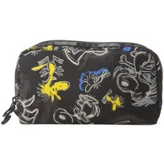 LeSportsac Rectangular Cosmetic (Chalkboard Snoopy) ($21) ❤ liked on Polyvore featuring beauty products, beauty accessories, bags & cases and lesportsac