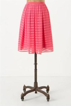 Anthropologie Lawn Party Skirt