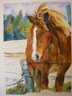 Watercolor Art Print by Maure Bausch by twopoots on Etsy