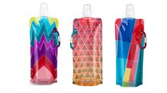 so cool! a foldable water bottle!