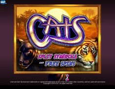 "Cats - For another IGT Las Vegas classic brought home-side, Cats is a visually appealing 5 reel, 30 payline video bonus slot game that is loaded with features. A winning payline may have as many as 10 or as few as 3 matching symbols due to the ""Split Symbols"" feature that counts as two symbols and every wild symbol can count as a split symbol."