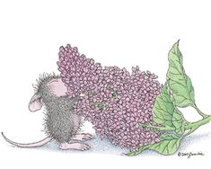 """""""Sensory Overload"""" from House-Mouse Designs®. This image was recently purchased on a rubber stamp. Click on the image to see it on a bunch of other really """"Mice"""" products."""