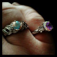 Beautiful Diamond Candles rings
