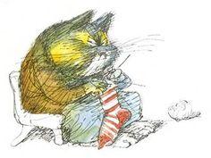 Детский художник Виктор Чижиков и его рисованные коты). Обсуждение на LiveInternet - Российский Сервис Онлайн-Дневников