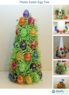 This is a guide about making a plastic Easter egg tree. Make this cute Easter decoration for your home this holiday.