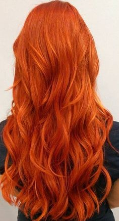 Get Ready for Autumn with These 50 Gorgeous Fall Hair Color Ideas! – My New Hair… Get Ready for Autumn with These 50 Gorgeous Fall Hair Color Ideas! – My New Hairstyles Red Orange Hair, Bright Red Hair, Red Hair Color, Pastel Orange Hair, Color Red, Bright Copper Hair, Elumen Hair Color, Copper Red Hair, Copper Nails